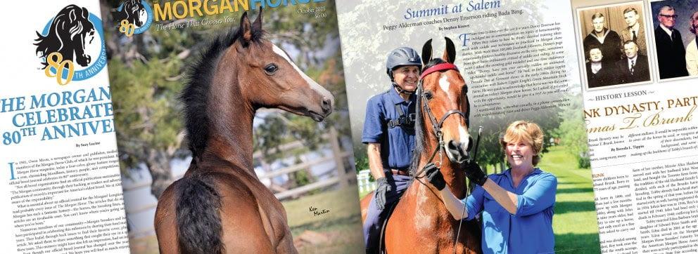 The Morgan Horse Magazine